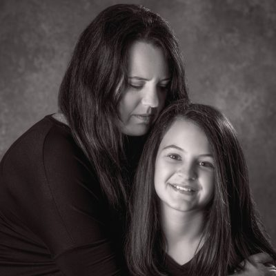 Mother-daughter portraits