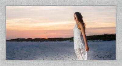 Beach senior portrait made in Florida by Sandy Flint Photography - Houston