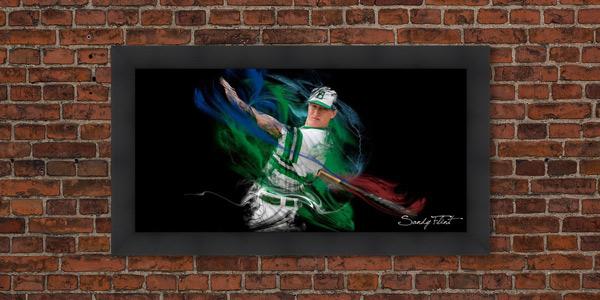 Sports senior portrait of baseball player - Houston, Tx | Flint Photography | Sandy Flint