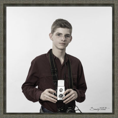 Tween portrait of a young photographer by Sandy Flint   Flint Photography   Katy   Houston