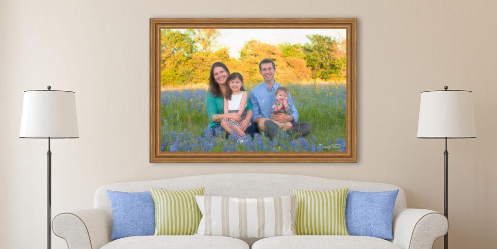 Bluebonnet Family Portraits near Houston | Flint Photography