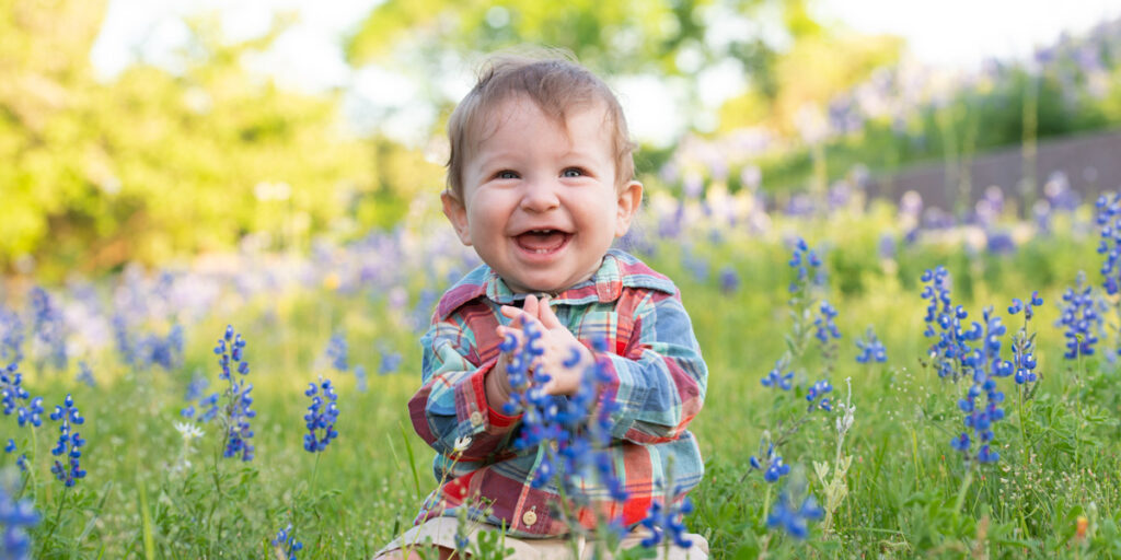 Bluebonnet Portraits in Texas