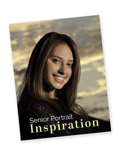 Senior Portrait Inspiration Guide Cover | Senior Portraits by Flint Photography